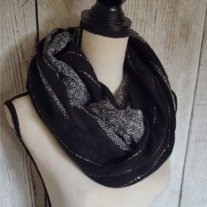 Steve Madden knit & Sequins Infinity Scarf